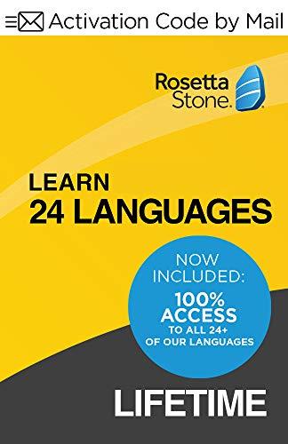 ロゼッタストーン 最新版 24言語 + Rosetta Stone 無制限 Online Subscription付き Rosetta Stone Windows/Mac [並行輸入品]