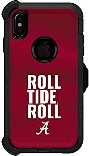 Skinit Decal Skin for OtterBox Defender iPhone Xs Max - Officially Licensed College Alabama Roll Tide Roll Design