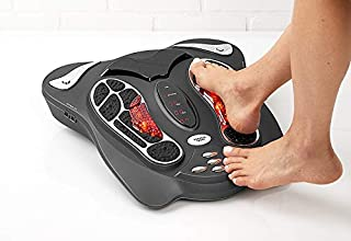 Sharper Image T.E.N.S. Foot Massager with Infrared Heat