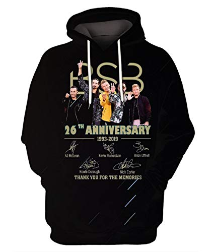 Maxbrother BSB 26th Anniversary Thank You for The Memmories Signatures – Playera, Negro, Medium
