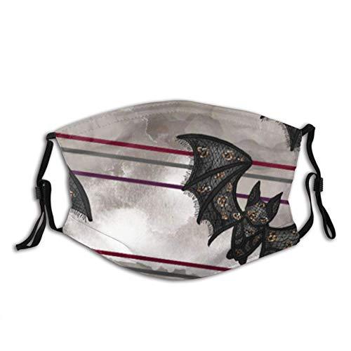 Bate Rose filtro bolsillo lavable reutilizable fiesta de Halloween Cosplay al aire libre protección paño protector facial bandanas