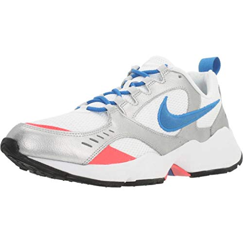 Nike Air Heights, Zapatillas Hombre, Blanco (White/Photo Blue/Mtlc Platinum 102), 41 EU