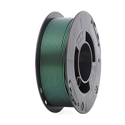 Winkle Filamento PLA | Pla 1.75mm | Filamento Impresión 3D | Impresora 3D | Filamento 3D | Color Verde Interferencia | Bobina 1000gr