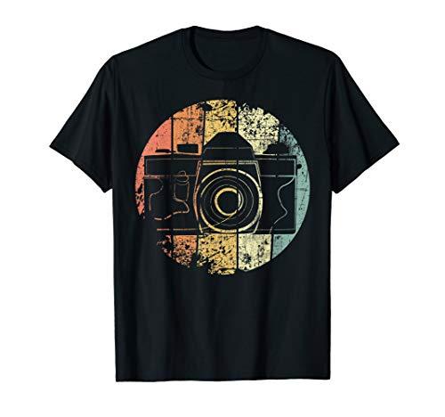 Kamera Retro Fotograf Vintage Fotografie T-Shirt