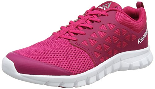 Reebok Sublite XT Cushion 2.0 MT, Zapatillas de Trail Running Mujer, Rosa (Pink Craze/Manic Cherry/White/Pewter), 36 EU
