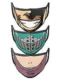ComicSense.xyz Unisex Re-Usable My Hero Academia Anime Printed Free Size Cotton Mask