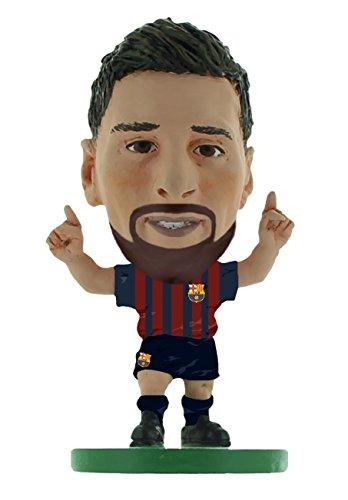 SoccerStarz SOC1059 Barcelona Lionel Messi-Home Kit (versión 2019) /Figuras, Verde