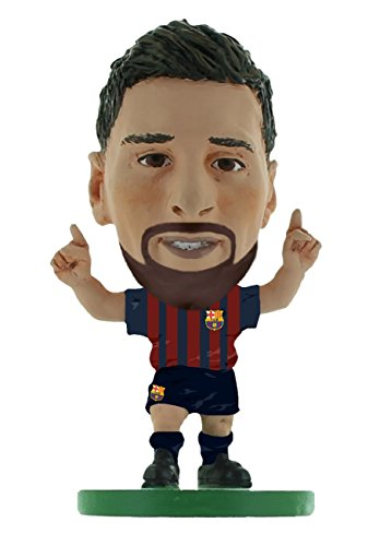 SoccerStarz SOC1059 Barcelona Lionel Messi-Home Kit (Version 2019) /Figuren, grün