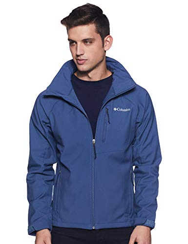 Columbia Herren Cascade Ridge II Softshell-Jacke, Blau (Dark Mountain), XS
