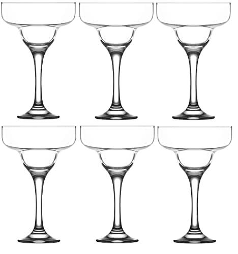Margarita Cocktail Drinking Glasses. ( Set of 6 ) 295 ml.