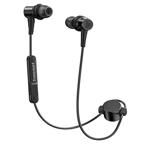 Tronsmart Bluetooth イヤホン 高音質 apt-X/AAC対応 低音強化 IP56防水 マグネット機能