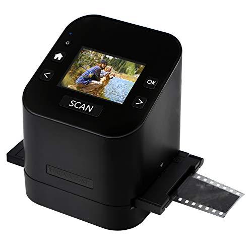 "Magnasonic All-In-One Film & Slide Scanner, High Resolution 22MP, Converts 35mm/110/126/ Super 8/8mm Film & 135/110/126 Slides into Digital JPEG, 2.4"" LCD Screen, Built-in Memory, Fast Scanning (FS52)"