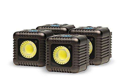 Lume Cube Action-Kamera Licht, 4-Pack Gunmetal grau