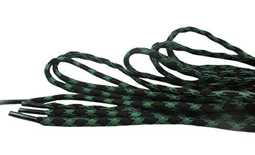 Black Temptation Lacets Solides antidérapant Chaussures Strings ondulés résistant à l'abrasion-05
