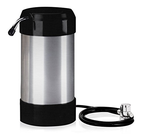 Product Image of the cleanwater4less Countertop Water Filtration System - No Plumbing Water Filter - Faucet Adapter