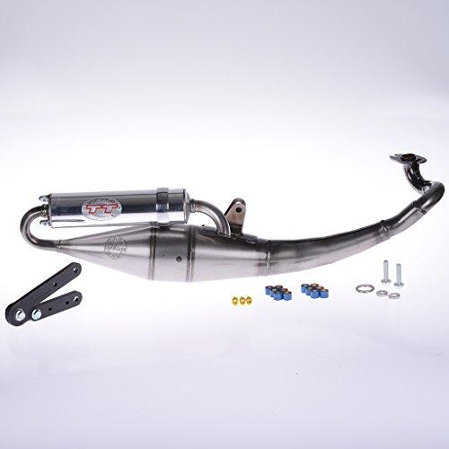 Auspuff LeoVince TT SR 50 MZ - Minarelli liegender Motor LC F15 Firefox ZJM44 Nitro SA14 Aerox 2 Takt