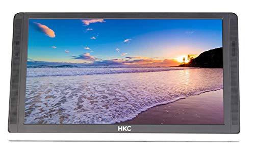 HKC MR13HFP Full HD tragbarer Monitor 13 Zoll (1920x1080p, HDMI-C, USB-C, IPS Panel, 60Hz), Falt Standard und 12V/2A Adapter