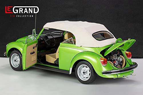 LE Grand Collection VW Käfer Cabrio 1303 viperngrünmetallic 1:8 Modellauto