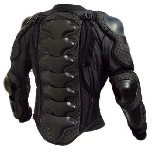 Protektorenjacke S Brustpanzer Rückenprotektor (Größe S) Schutzausrüstung für Fahrrad Bike Quad Motocross Motorrad Motorsport – Protektor Protektoren Jacke Motorradjacke - 2