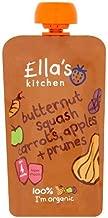 Ella's Kitchen Organic Puree, Butternut Squash, Carrots, Apples And Prunes, 120 gm