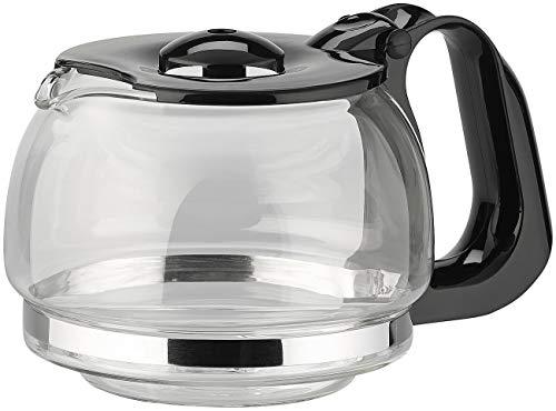 Rosenstein & Söhne Zubehör zu Reise-Kaffeemaschinen: Ersatz-Glaskanne für Kfz-Filterkaffee-Maschine, bis zu 3 Tassen (Auto Wasserkocher Kaffeemaschine)