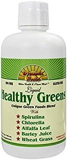 Dynamic Health Healthy Greens Liquid, 32 Ounce