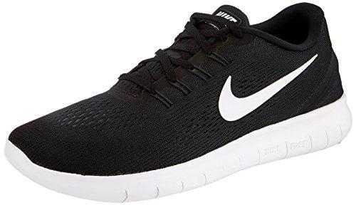 Nike Free Rn, Men's Running Shoes, Black/White/Anthracite, 11.5 UK (47 EU)