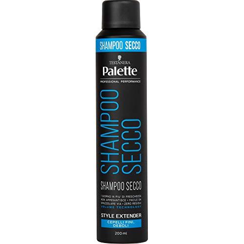Schwarzkopf, Palette Styling Shampoo Secco, per capelli fini e deboli, 200 ml