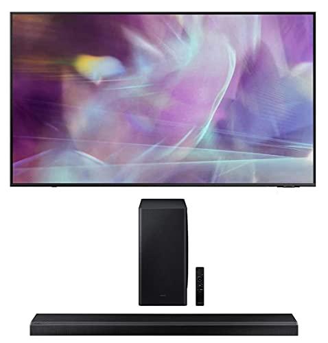 Samsung QN70Q60AA 70' QLED Q60 Series 4K Smart TV Titan Gray with a Samsung HW-Q800A 3.1.2ch Black...