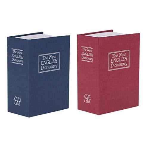 Juego de 2 huchas con diseño de diccionario, hucha, hucha, regalo artesanal
