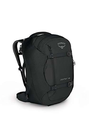 Osprey Packs Porter 46 Travel Backpack, Black