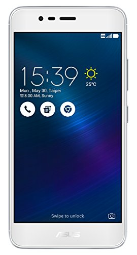 Asus Zenfone 3Max Smartphone ohne SIM-Lock 4G (Display: 5,2Zoll/13,2cm–32GB–Dual SIM–Android 6.0Marshmallow)