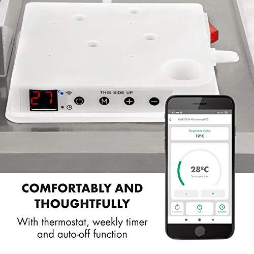 Klarstein Wonderwall White Edition - Calefactor por infrarrojos ...