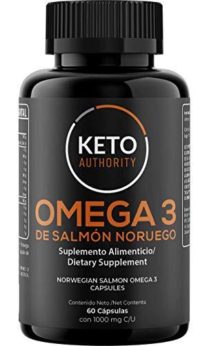 Keto Authority | Omega 3 | Aceite Puro de Salmón Noruego |