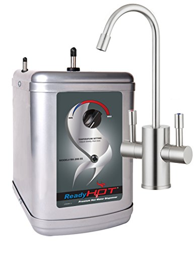 Ready Hot Water Dispenser, Instant Hot Water Dispenser, Includes Brushed Nickel Hot and Cold Water...