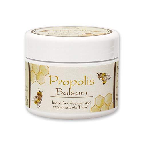 Florex Propolis Balsam 50ml aus Österreich- Hautschutz Balsam zur Regeneration rissiger und strapazierter Haut, schnell einziehender Textur und entzündungshemmender Wirkung