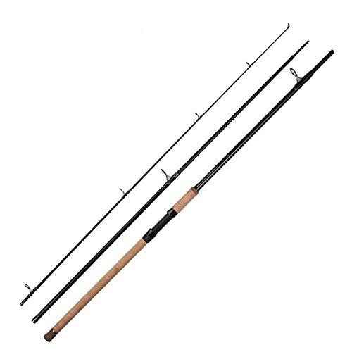 kyman Sea Fishing Travel Rod tragbar Angelrute und Bandspule Combos Carbon-Faser-Teleskop Angelrute Meersalzwasser Süßwasser (Farbe: Schwarz, Größe: 3,6 m) (Color : Black, Size : 3.6m)