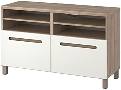 Amazon.com: Ikea TV unit with drawers, Marviken white ...