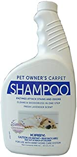 Kirby Vacuum Carpet Rug Shampoo for Pet Owners Quart