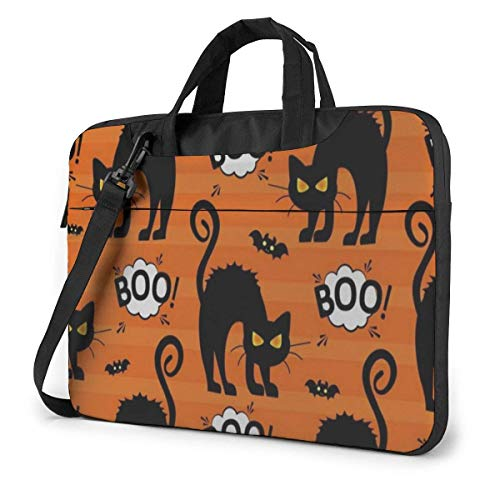 zhengdong Vintage Happy Halloween s Laptop Bag Protective Case Computer Menger Briefcase Women Men 14'