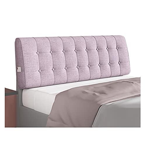 LIANGJUN Cojín de respaldo para cabecera de cama de esponja elástica, tapa extraíble lavable, dormitorio para la renovación del hogar, 4 colores, tamaño personalizado
