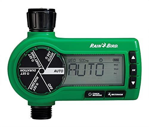 Rain Bird Professional Grade 1zehtmr Electronic Digital Schlauch End Timer/Controller, One Zone/Station, batteriebetrieben