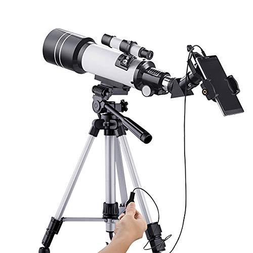 CNCBT Telescopios para Los Adultos, El Telescopio Astronómico Observación De Las Estrellas del Mundo Profesional De Alta Magnificación De Alta Definición HD Telescopio Ocular Doble Propósito