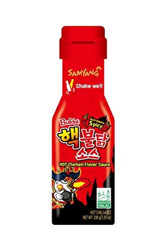 Samyang Sauce - Extremely Spicy - Buldak Hot Chicken Flavor Sauce - Halal