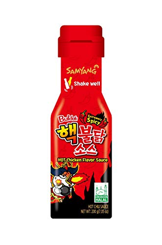 Samyang Sauce - Extremely Spicy - Buldak Hot Chicken Flavor Sauce - Halal