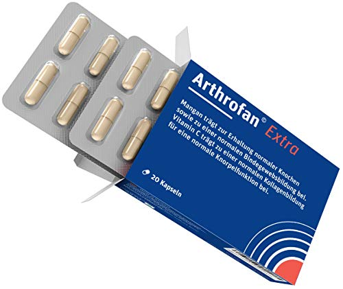 Arthrofan | Gelenkkomplex mit MSM, Glucosamin und Mangan | 20 Kapseln