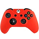 Flexible Silicone Protective Case for Xbox One(Red)