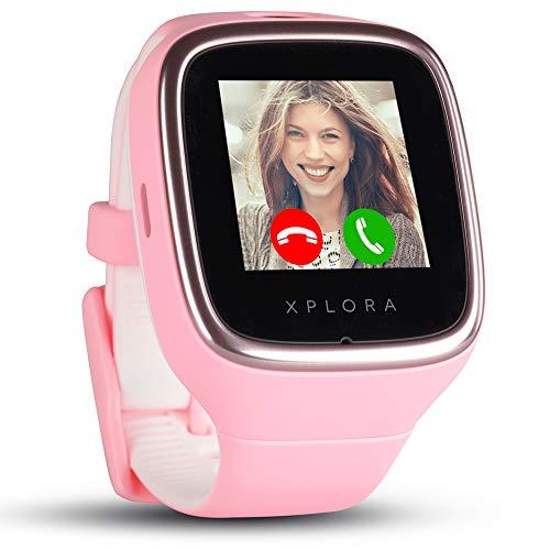 XPLORA 3S - Smartwatch para tu Hijo, Resistente al Agua, cámara, SIM no incluida (Rosa)