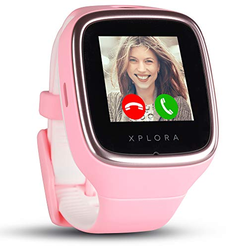 XPLORA 3S Smartwatch niños, color rosa