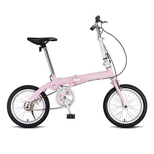 Bicicletas Plegable Velocidad Variable 20 Pulgadas Portátil Ultraligera For Adultos Estudiante De 16 Pulgadas
